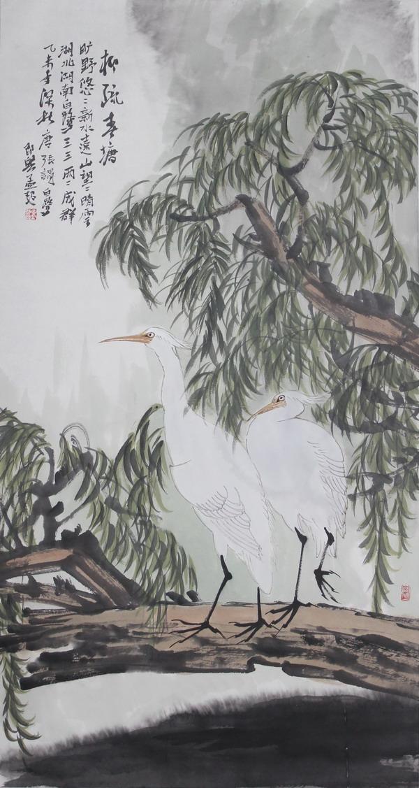 孟超花鸟画