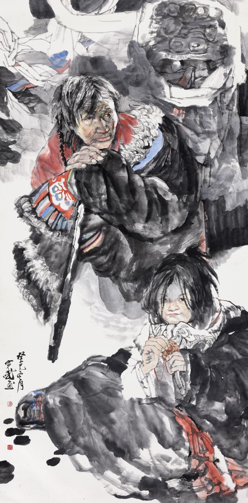 张宽武人物画