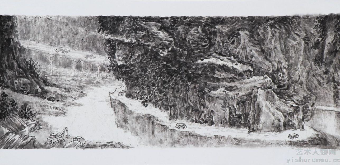 王雅顺山水画