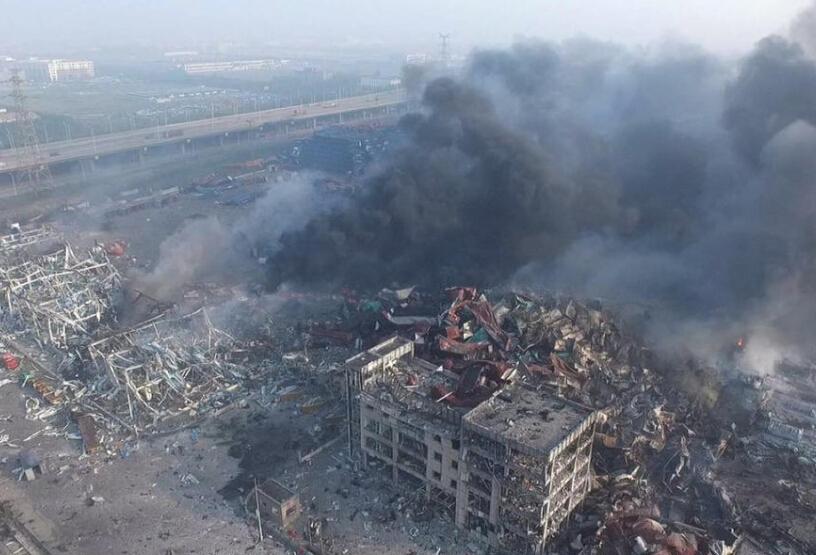 天津塘沽大爆炸,塘沽大爆炸,滨海新区,天津港码头