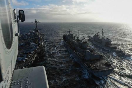 中国刚在南海羞辱美军