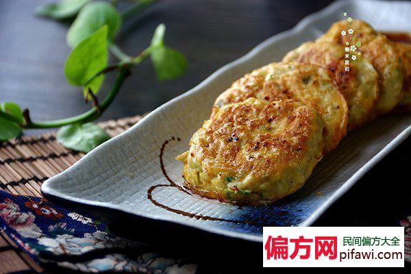 豆腐饼做法和图解(电饼铛版)