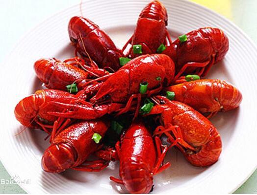 小龙虾相克表和小龙虾的功效与作用
