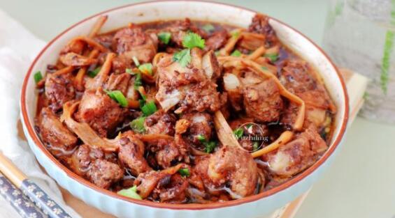 金针豆豉蒸排骨#好吃不上火#
