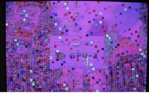 电脑开机花屏的几种情况和解决方法