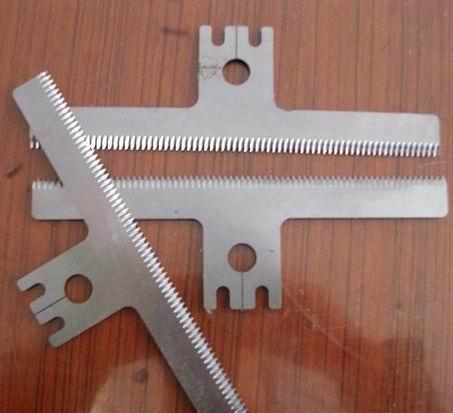 包装机械用齿形刀片