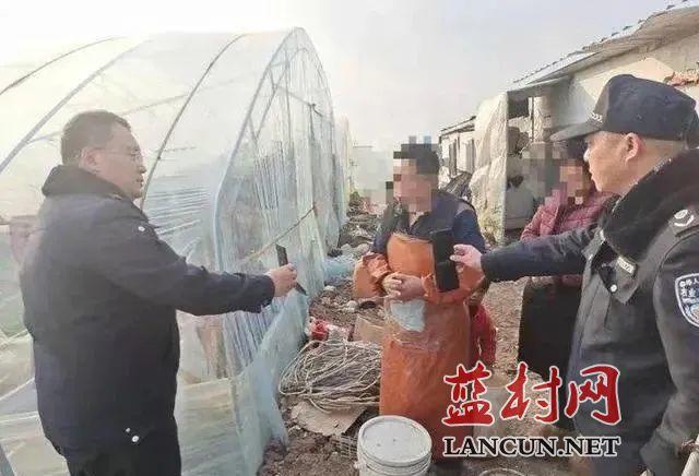 蓝村一种植户因随意丢弃肥料袋被罚款200元