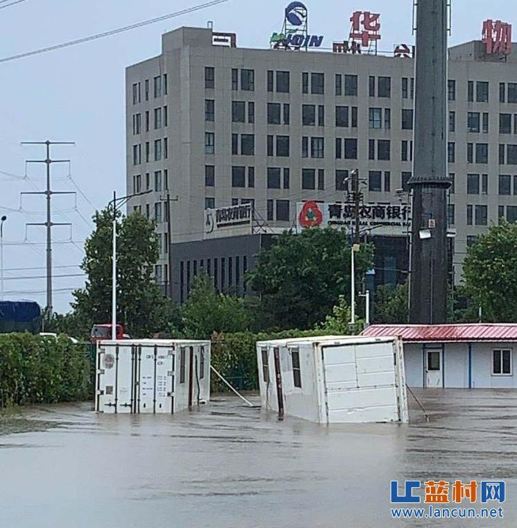 蓝村降雨量为198毫米!南泉降雨量为318.5毫米!