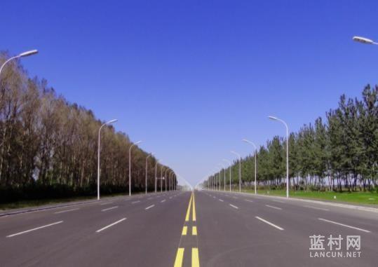 蓝村这条路大修!全长2.1千米!