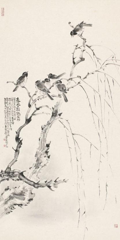 描绘中国梦郑州百幅国画精品展之郑州美协主席团作品