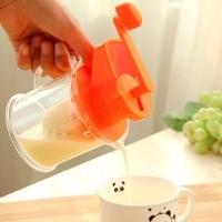 【特好商城0元购】宝宝婴儿迷你小型手动榨汁机家用水果手摇榨汁器豆浆机(另送5件不同小商品)