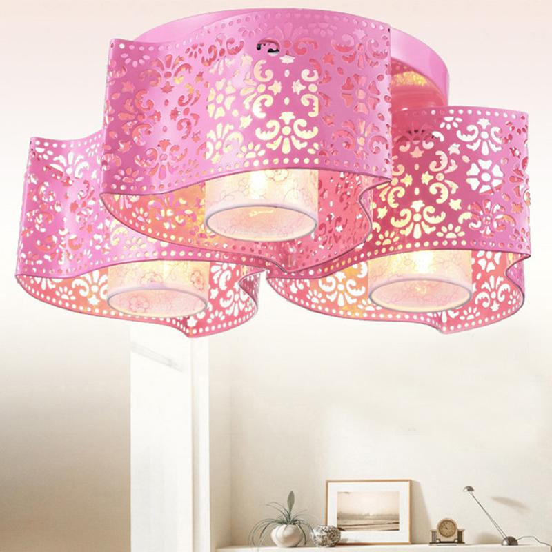 现在创意LED吸顶灯客厅灯卧室灯温馨浪漫婚房书房儿童房餐厅灯具