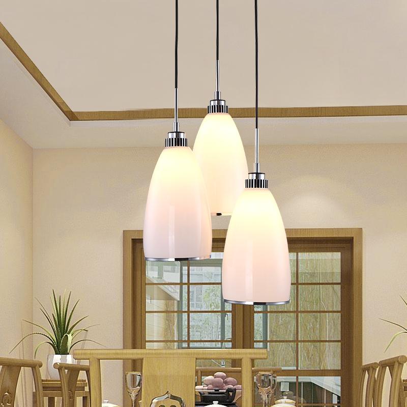 灯饰现代简约三头餐厅灯吧台创意小吊灯玄关过道楼梯创意灯具特价