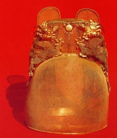 定陵文物·皇帝戴的金冠