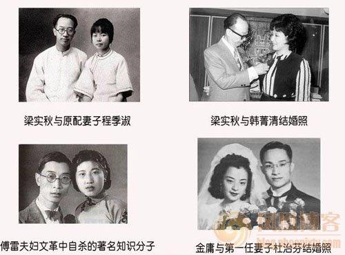 中国近百年历史珍贵图片:梁实秋、傅雷、金庸