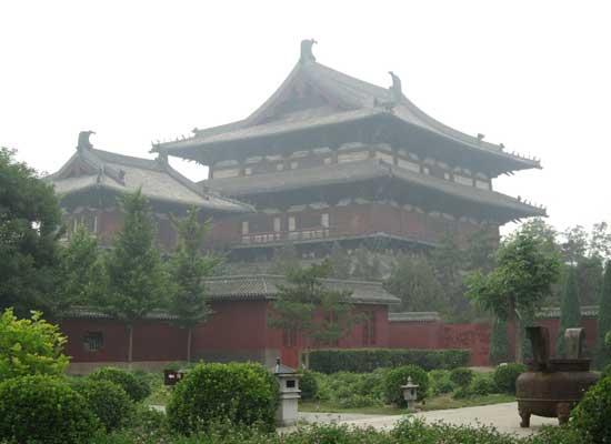 中国十大著名寺院之隆兴寺