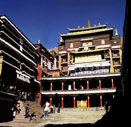 中国十大著名寺院之扎什伦布寺