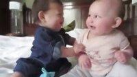 超可爱的婴儿对话
