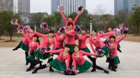 手球花变队形舞蹈