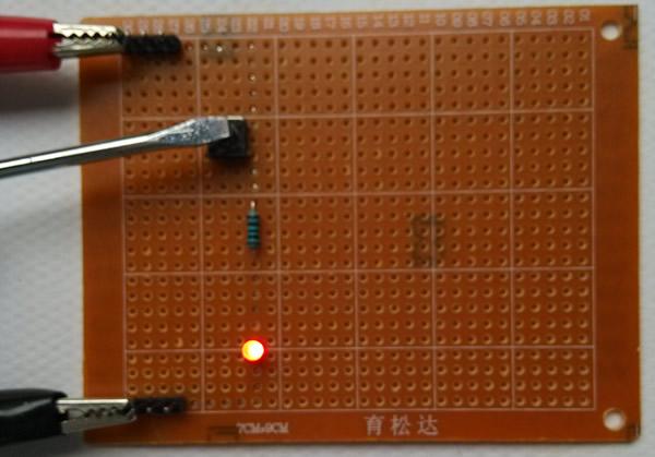 图1电路模型实物图