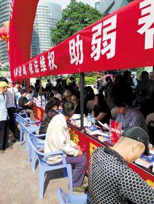 云南开展农民工律师法律服务宣传咨询活动