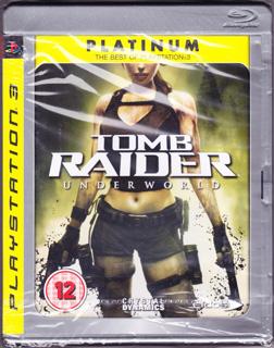 铂金版《古墓丽影8:地下世界》(PS3、塑料盒简装、欧洲 中东 非洲 大洋洲)