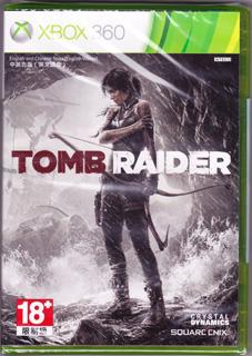 标准版《古墓丽影9》(Xbox360、塑料盒简装、台湾版)
