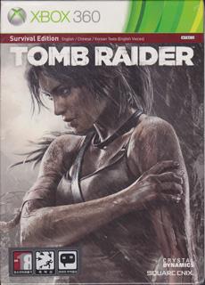 生存版《古墓丽影9》(Xbox360、纸盒装、韩国版)