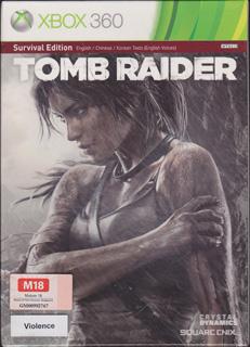 生存版《古墓丽影9》(Xbox360、纸盒装、新加坡版)