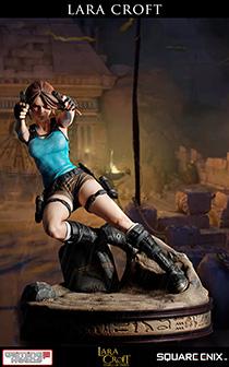 """18寸Gaming Heads出品标准版""""奥西里斯神庙劳拉""""雕像"""