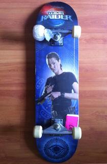 Ozbozz出品古墓丽影特别版滑板