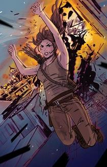 2016年全新系列漫画《古墓丽影》第十一集