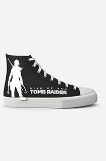 "GamerShoes可拆鞋:""古墓丽影:劳拉·克劳馥 - 黑色"""