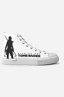 "GamerShoes可拆鞋:""古墓丽影:劳拉·克劳馥 - 白色"""