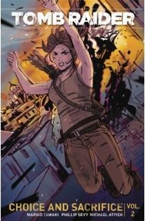 2016年全新系列漫画《古墓丽影合集第二册:选择和牺牲》(平装本)