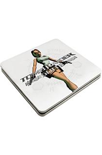 《古墓丽影组曲》众筹奖品:经典劳拉封面签名版《古墓丽影组曲》豪华锡盒CD