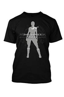 《古墓丽影组曲》众筹奖品:新劳拉图案黑色男版《古墓丽影组曲》T恤