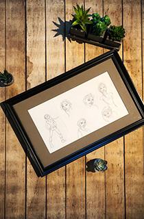 托比·加德《古墓丽影:传奇》概念草图:表情