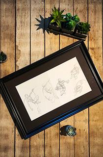 托比·加德《古墓丽影:传奇》概念草图:攀登