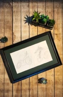 托比·加德《古墓丽影:传奇》概念草图:摩托