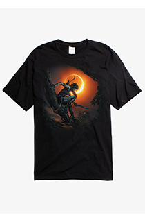 《古墓丽影:暗影》封面T恤