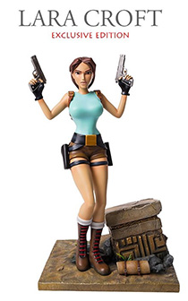"""14寸Gaming Heads出品专属版""""初代经典装劳拉""""主题雕像"""