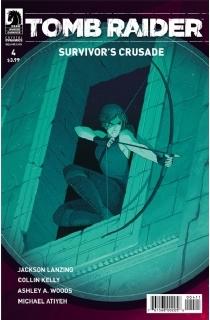 2017年全新系列漫画《古墓丽影:生还者的圣战》第四集