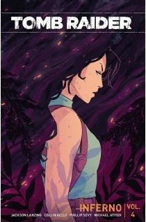 2018年全新系列漫画《古墓丽影合集第四册:地狱》(平装本)