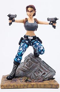 """12寸Gaming Heads出品普通版""""古墓丽影3:劳拉的冒险""""劳拉主题雕像"""