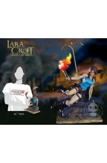 """16寸Gaming Heads出品普通版""""劳拉与奥西里斯神庙""""劳拉主题雕像"""