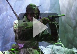 2015年E3展劳拉COSPLAY代表詹·克劳馥(Jenn Croft)