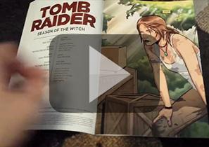 2014年全新系列漫画《古墓丽影》第一集预览视频
