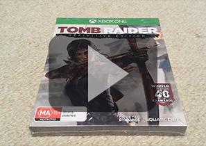 《古墓丽影9:最终版》Xbox One纸盒版拆封视频
