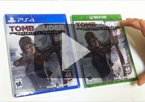 《古墓丽影9:最终版》Xbox One塑料盒简装版拆封视频